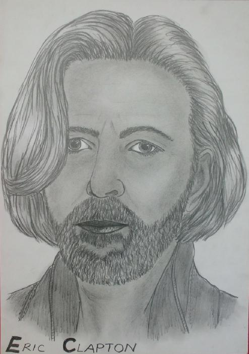 Eric Clapton by kendzik